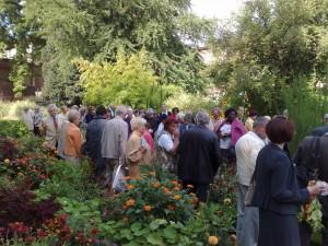 visite du jardin Godron